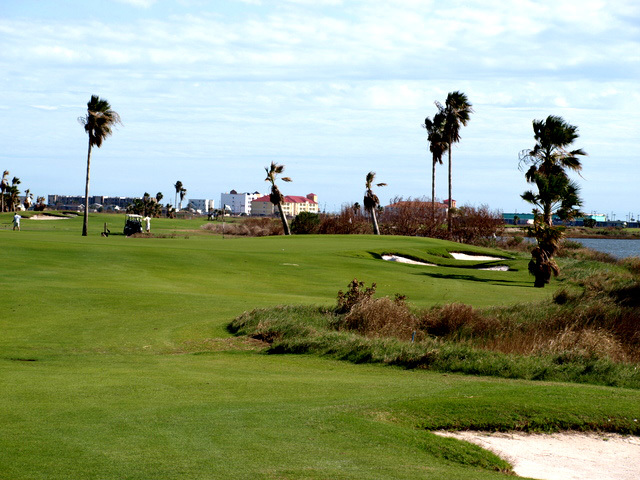 Moody Gardens Golf Course - Hole 10