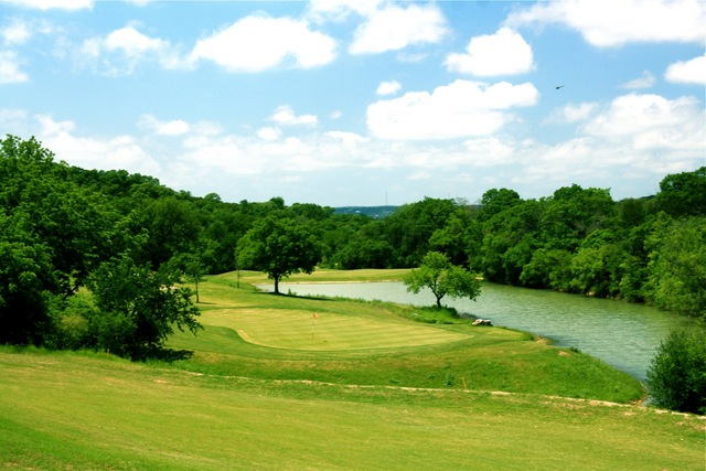 Crystal Falls Golf Club in Leander - No. 7