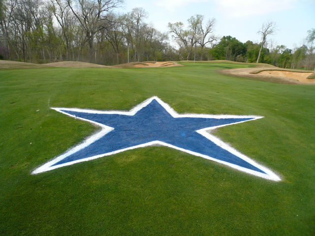 Whether you or loathe the blue star: Cowboys Golf Club is a ... on