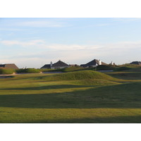 A view of the links-style course at Houston National Golf Club.