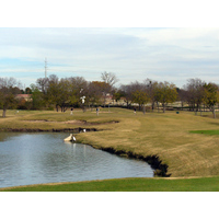 The eighth hole on The Lakes Course at Firewheel is one of three par 3s measuring in the 180s from the tips, and 160s from the blues.