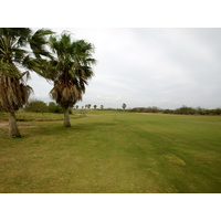 The par-5 seventh at South Padre Island Golf Club usually plays downwind.