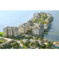 The Waters Condominiums at Horseshoe Bay Resort are luxurious, two and three-bedroom units on Lake Travis.