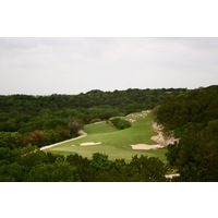 The Westin La Cantera's Palmer Course features plenty of green scenery and rock outcroppings.