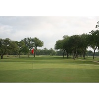Each of Brackenridge Park Golf Course's par 4s are tightly framed by mature trees.