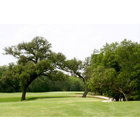 Depending on your position, your second or third shot may have to carry trees on the sixth hole at The Republic.