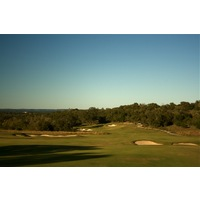 Cordillera Ranch Golf Club's 10th hole is a short par 4 that features a green that slopes severely right-to-left.