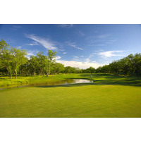 Wolfdancer Golf Club features three different environments, including low-lying flatlands with native Pecan trees.