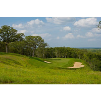 "Nicknamed ""Top of the World,"" the par-3 12th hole at Wolfdancer Golf Club is a delicate downhill shot of 170 yards from the back tees."