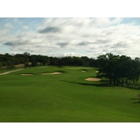 The par-5 sixth on the AT&T Canyons Course at TPC San Antonio is a good three-shot hole.