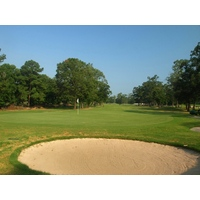 While the back nine at La Torretta Lake Resort & Spa is easier, the 461-yard, par-4 10th is an exception.
