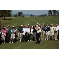 Jack Nicklaus officially opened Horseshoe Bay Resort's Summit Rock Course with a playing exhibition on Oct. 30, 2012.