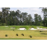 The fifth hole on The Needler Course was inspired by the approach shot on No. 2 at Pine Valley.