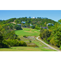 Strong players can drive the short par-4 12th at Tapatio Springs Hill Country Resort & Spa in Boerne, Texas.