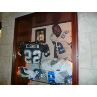 Not surprisingly, Cowboys Golf Club is full of Dallas Cowboys memorabilia.