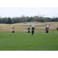 Cowboys Golf Club in Grapevine, Texas has a large practice range.