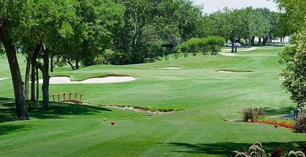 South Course At Ridglea Country Club In Fort Worth
