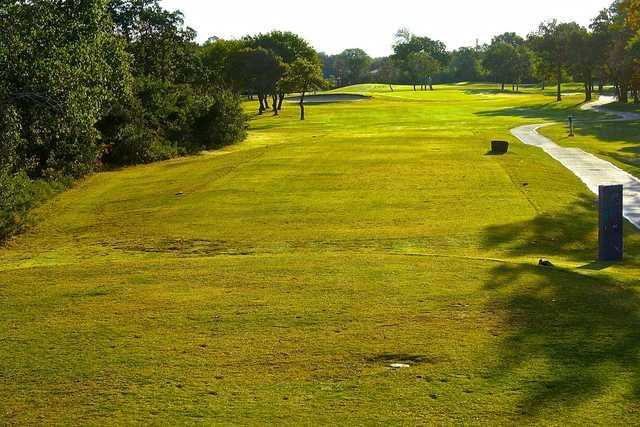 Shady Oaks Golf Course in Baird