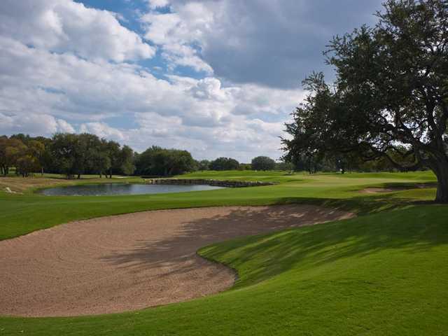 Oaks Nine At Hill Country Golf Club In San Antonio