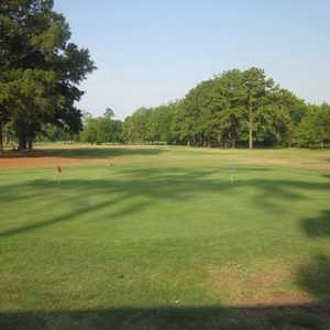 Livingston GC: practice green