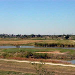 Llano Grande GC: island green