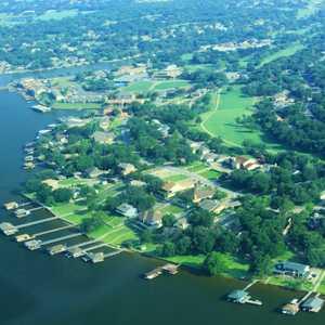 DeCordova Bend CC: Aerial view