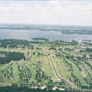 Lake Fork GC: Aerial view