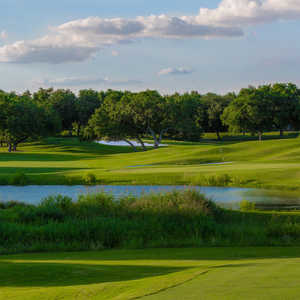 Creeks Nine At Hill Country Golf Club In San Antonio