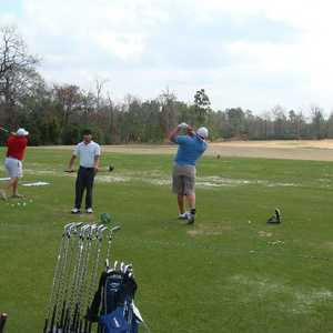 Woodforest GC: Driving range