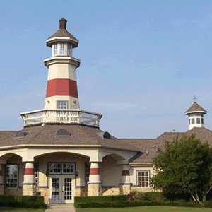 Stewart Peninsula GC: clubhouse