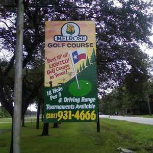 Melrose GC: Sign