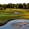 A view over a pond at Pebble Creek Country Club.