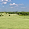 A view of a fairway at Irving Golf Club.