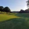 A view of a fairway at Cedar Creek Golf Course.