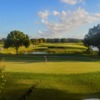 A sunny day view from Willow Fork Country Club.