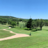 A view of a tee at Scott Schreiner Golf Club.