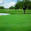 View of the 8th green at Casa Blanca Golf Course.