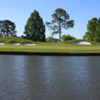 A view of a green at Riverbend Country Club.