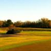 A view of a tee at Riverchase Golf Club.