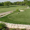 A view from tee with narrow path on the left (courtesy of San Angelo Country Club)