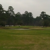 A view of hole #18 at Tomball Country Club