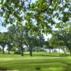A view of the 8th green at Rolling Hills Country Club