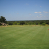A view of the puttin green at Hideout Golf Club.