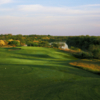 A view of a tee at Max A. Mandel Golf Course