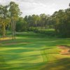 A view of the 2nd green protected by tricky sand traps at Timber Trails Course from Timber Creek Golf Club