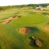 Aerial view of hole #9 at Timber Trails Course from Timber Creek Golf Club