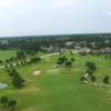 Aerial view from Gleannloch Pines Golf Club