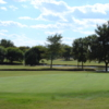 A view of a green at LakeRidge Country Club.
