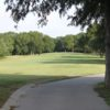 A view of a tee from the Courses of Clear Creek