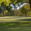 A sunny day view from San Saba River Golf Course